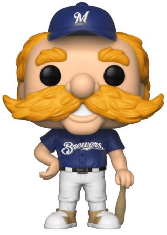 Figurine Funko Pop MLB : Ligue Majeure de Baseball #08 Bernie Brewer