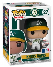 Figurine Funko Pop MLB : Ligue Majeure de Baseball #27 Khris Davis