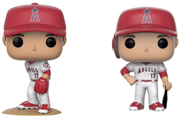 Figurine Funko Pop MLB : Ligue Majeure de Baseball #00 Shohei Ohtani - 2 pack