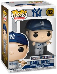 Figurine Funko Pop MLB : Ligue Majeure de Baseball #2 Babe Ruth