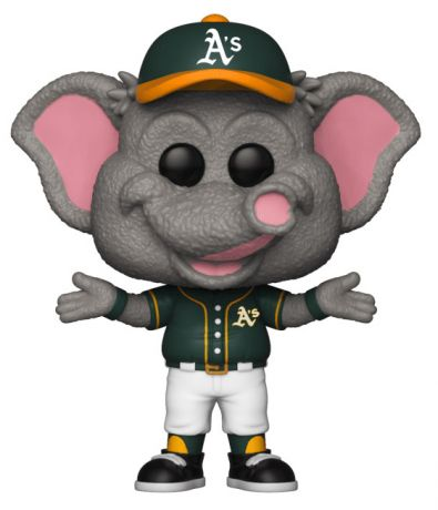 Figurine Funko Pop MLB : Ligue Majeure de Baseball #12 Athletics Mascotte