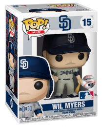 Figurine Funko Pop MLB : Ligue Majeure de Baseball #15 Wil Myers