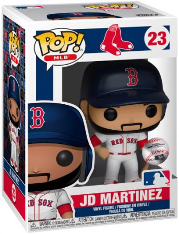 Figurine Funko Pop MLB : Ligue Majeure de Baseball #23 JD Martinez