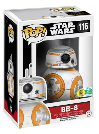 Star Wars BB-8 Thumbs Up Episode VII FORCE 116 POP Movie Vinyl Figure Funko 9625