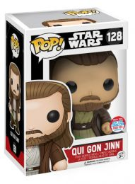 Figurine Funko Pop Star Wars 1 : La Menace fantôme #128 Qui Gon Jinn