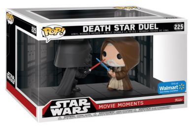 Figurine Funko Pop Star Wars 7 : Le Réveil de la Force #225 Darth Vader & Obi Wan Kenobi Duel