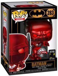 Figurine Funko Pop Batman [DC] #283 Batman mort rouge - Métallique