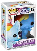 Figurine Funko Pop My Little Pony #12 Rainbow Dash - Poney des Mers
