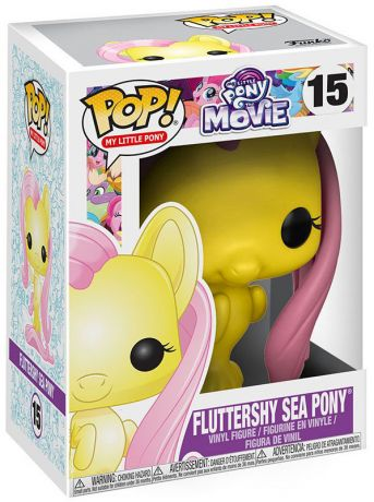 Figurine Funko Pop My Little Pony #15 Fluttershy - Poney des Mers