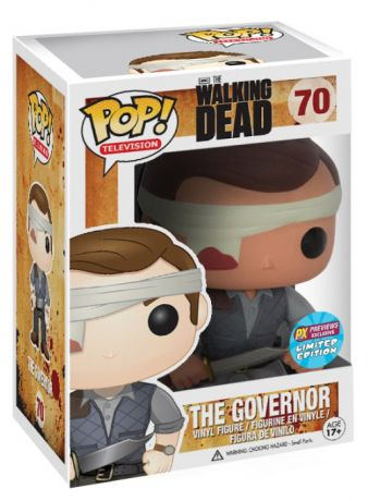 Figurine Funko Pop The Walking Dead #70 Le Gouverneur