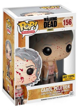 Figurine Funko Pop The Walking Dead #156 Carol Peletier - Bloody
