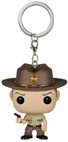 Figurine Funko Pop The Walking Dead #00 Rick Grimes - Bloody