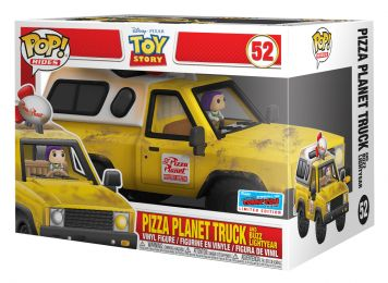 Figurine Funko Pop Toy Story [Disney] #0 Camion Pizza Planet avec Buzz l'Eclair
