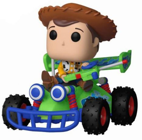 Figurine Funko Pop Toy Story [Disney] #56 Woody avec RC