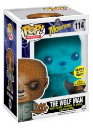 Figurine Funko Pop Universal Monsters #114 Loup Garou - Brillant dans le noir