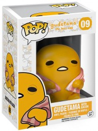 Figurine Funko Pop Sanrio #9 Gudetama The Lazy Egg - Avec Bacon