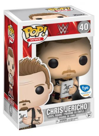 Figurine Funko Pop WWE #40 Chris Jericho