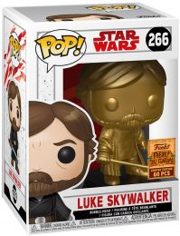 Figurine Funko Pop Star Wars 8 : Les Derniers Jedi #266 Luke Skywalker - Or
