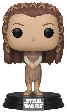 Figurine Funko Pop Star Wars : The Clone Wars #287 Princesse Leia - Village des Ewok