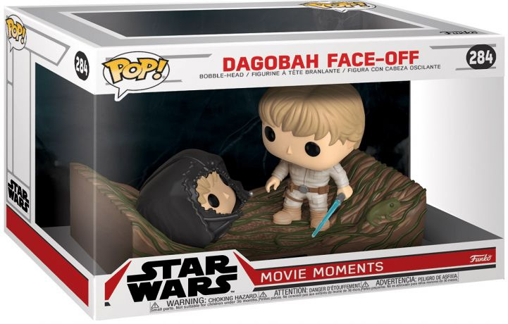Figurine Funko Pop Star Wars : The Clone Wars #284 Dagobah Face à Face