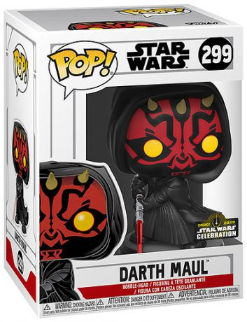 Figurine Funko Pop Star Wars : The Clone Wars #299 Dark Maul