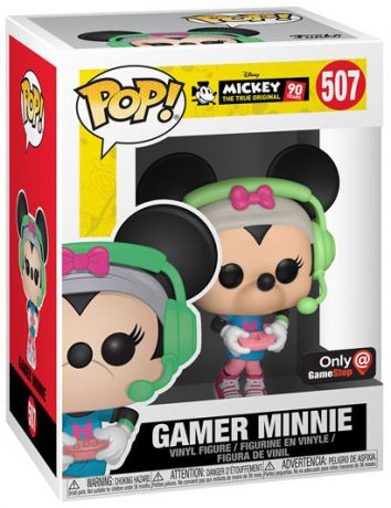 Figurine Funko Pop Mickey Mouse - 90 Ans [Disney] #507 Minnie Gameuse