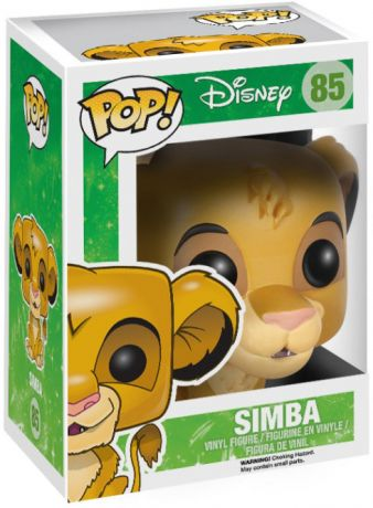 Figurine Funko Pop Le Roi Lion [Disney] #85 Simba