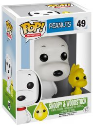 Figurine Funko Pop Snoopy #49 Snoopy & Woodstock