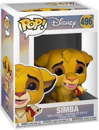 Figurine Funko Pop Le Roi Lion [Disney] #496 Simba Grub
