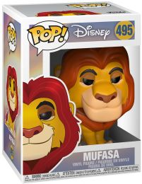 Figurine Funko Pop Le Roi Lion [Disney] #495 Mufasa