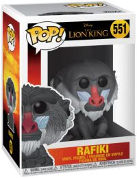 Figurine Funko Pop Le Roi Lion 2019 [Disney] #551 Rafiki