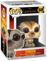 Figurine Funko Pop Le Roi Lion 2019 [Disney] #549 Timon