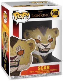 Figurine Funko Pop Le Roi Lion 2019 [Disney] #548 Scar