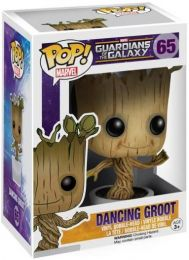 Figurine Funko Pop Les Gardiens de la Galaxie [Marvel] #65 Groot en Pot