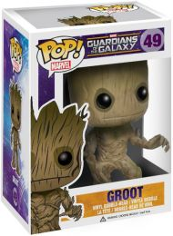 Figurine Funko Pop Les Gardiens de la Galaxie [Marvel] #49 Groot