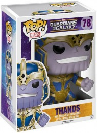 Figurine Funko Pop Les Gardiens de la Galaxie [Marvel] #78 Thanos - 15 cm