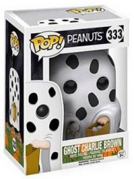 Figurine Funko Pop Snoopy #333 Charlie Brown - Fantôme