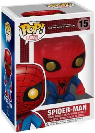 Figurine Funko Pop The Amazing Spider-Man [Marvel] #15 Spider-Man