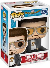Figurine Funko Pop Spider-Man Homecoming [Marvel] #226 Tony Stark