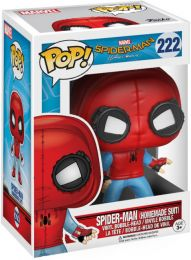 Figurine Funko Pop Spider-Man Homecoming [Marvel] #222 Spider-Man avec Costume Fait Maison