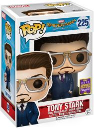 Figurine Funko Pop Spider-Man Homecoming [Marvel] #225 Tony Stark