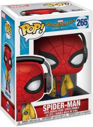 Figurine Funko Pop Spider-Man Homecoming [Marvel] #265 Spider-Man Écoutant de la Musique