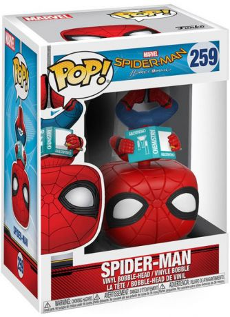 Figurine Funko Pop Spider-Man Homecoming [Marvel] #259 Spider-Man à l'Envers