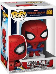 Figurine Funko Pop Spider-Man : Far from Home [Marvel] #468 Spider-Man avec Costume de Héro