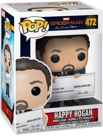 Figurine Funko Pop Spider-Man : Far from Home [Marvel] #472 Happy Hogan