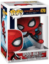 Figurine Funko Pop Spider-Man : Far from Home [Marvel] #470 Spider-Man avec Costume Amélioré