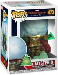 Figurine Funko Pop Spider-Man : Far from Home [Marvel] #473 Mysterio