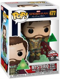 Figurine Funko Pop Spider-Man : Far from Home [Marvel] #477 Mysterio sans Masque