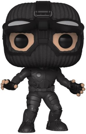Figurine Funko Pop Spider-Man : Far from Home [Marvel] #476 Spider-Man avec Costume Furtif et Lunettes relevées
