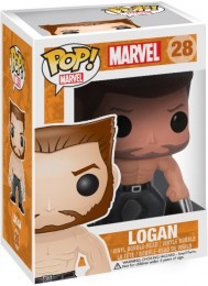Figurine Funko Pop X-Men [Marvel] #28 Logan